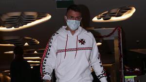 Galatasaraylı futbolculardan Omar Elabdellaouiye ziyaret