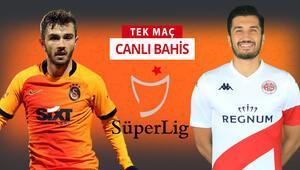 Galatasarayda 5, Antalyasporda 7 eksik Öne çıkan iddaa tahmini ise...