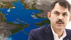 Kanal İstanbul'un planları askıya çıkıyor
