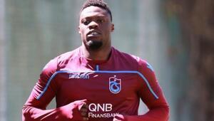 Trabzonsporda Ekuban sevinci
