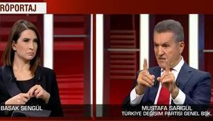 Mustafa Sarıgülden Fikri Sağlara tepki: Asla kabul etmeyiz