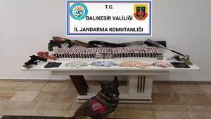 Balıkesirde uyuşturucu operasyonu: 3 tutuklama