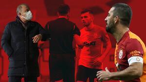 Galatasaray-Antalyaspor maçında kırmızı kart kararı sonrası ortalık yıkıldı Sosyal medya ikiye bölündü