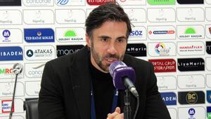 Atakaş Hatayspor Teknik Direktörü Ömer Erdoğan: Oyuncularımın bu mücadelesinden dolayı çok mutluyum