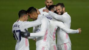 Evinde kazanan Real Madrid maç fazlasıyla lider oldu