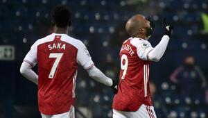 Arsenal, deplasmanda West Bromwichi farklı geçti