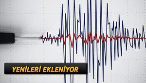 Elazığ depremi korkuttu- 3 Ocak Kandilli ve AFAD son depremler