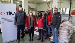TİKAdan depremin yaralarını sarmaya çalışan Hırvatistana yardım eli