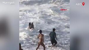Ünlü sörfçü boğulmakta olan kişiyi böyle kurtardı