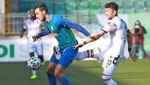 Çaykur Rizespor 1 - 1 Gençlerbirliği / Maçın özeti ve golleri