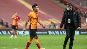 Son dakika | Galatasaraydan Falcaonun sakatlığıyla ilgili açıklama