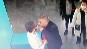 Veteriner hekime yumruklu saldırı kamerada