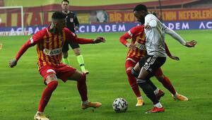 Kayserispor 0-2 Beşiktaş (Maçın özeti)
