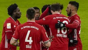 Bayern Münih, öne geçen rakibine gol yağdırdı