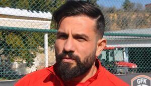 Gaziantep FKnin nöbetçi golcüsü: Kenan Özer
