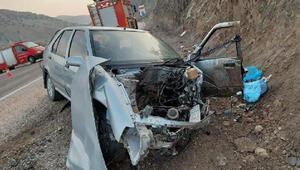 Tokatta kaza: 1 ölü, 4 yaralı