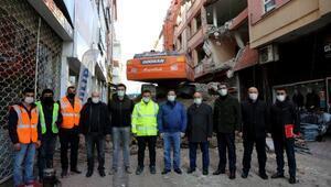 STSOnun eski binası yıkıldı, yenisi yapılacak