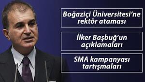 İlker Başbuğun açıklamaları, Boğaziçine rektör ataması, SMA kampanyası tartışmaları... AK Partili Çelikten flaş açıklamalar