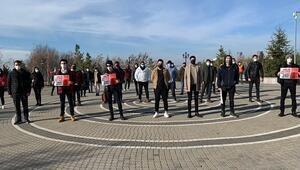 Yüz yüze sınav protestosu