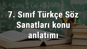 7. Sınıf Türkçe Söz Sanatları (Abartma, Benzetme, Kişileştirme, Konuşturma, Karşıtlık) konu anlatımı