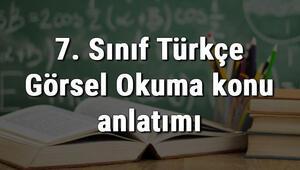 7. Sınıf Türkçe Görsel Okuma konu anlatımı