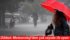 Meteorolojiden çok sayıda ile uyarı Sarı ve turuncu alarm verildi