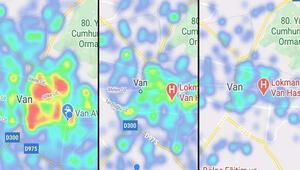Vandaki risk haritası maviye döndü