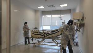 Ankara Şehir Hastanesinde koronavirüs başvurusu 3 binden 100ün altına düştü