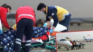 Hürriyet duyurmuştu... Prof. Dr. İlhan Başgöz, ambulans uçakla Türkiye'ye getirildi