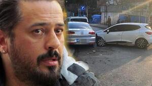 Sanatçı Emre Altuğ trafik kazası yaptı