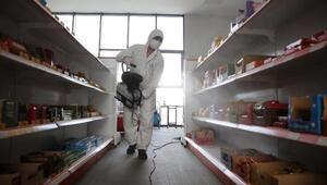 Denizlideki 19 ilçede dezenfeksiyon çalışması yapıldı
