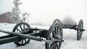Eksi 25 dereceyi gördü Ardahanda soğuk hava etkili oluyor