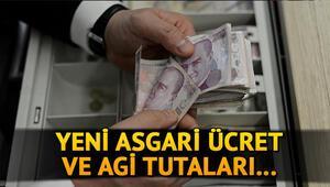 2021 asgari ücret ve AGİ tutarları belli oldu Asgari ücret ne kadar oldu