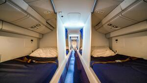 Uçaklardaki gizli yatak odası…