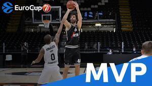 Teodosic, bir kez daha ULEB Avrupa Kupasında normal sezonun MVPsi