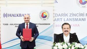 TOBB ve Halkbank'tan KOBİ'leri rahatlatacak finansman anlaşması
