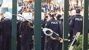 Üniversiteye kelepçeye polis şefleri de itiraz etti