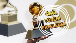 63. Grammy Ödül Töreni ne zaman 31 Ocakta yapılması bekleniyordu... Koronavirüsü nedeniyle ertelendi