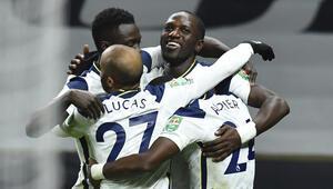 İngiltere Lig Kupasında ilk finalist Tottenham
