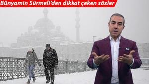 İstanbula kar yağacak mı Bünyamin Sürmeliden dikkat çeken açıklama: Kar ihtimali...
