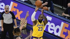 NBAde Gecenin Sonuçları   Los Angeles Lakers kazanmaya devam ediyor