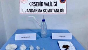 Kırşehirde 2 uyuşturucu şüphelisi adliyeye sevk edildi