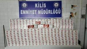 Kiliste kaçak sigaraya 1 gözaltı