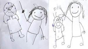 İki kardeş iğrenç olayı bu çizimlerle anlatmıştı Yeni gelişme...
