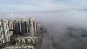 Ankarada yoğun sis