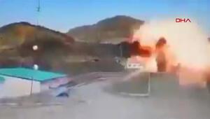 Azerbaycan Ermenistanın S-300lerini yok ettiği görüntüleri paylaştı