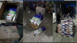 Gaziantepte 50 bin 402 paket sahte deterjan ele geçirildi