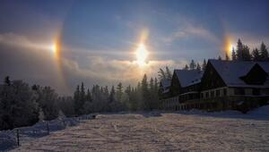 Dünyayı şaşkına çeviren doğa olayları... Özellikle yalancı güneş korkuttu