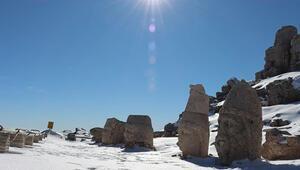 Dünya mirası Nemrut 5 yılda 530 bin ziyaretçi ağırladı