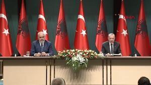 Türkiye ile Arnavutluk arasında anlaşmalar imzalandı